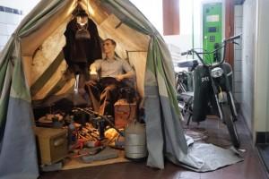 Tent museum